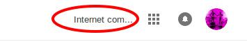 Accès au compte Google+